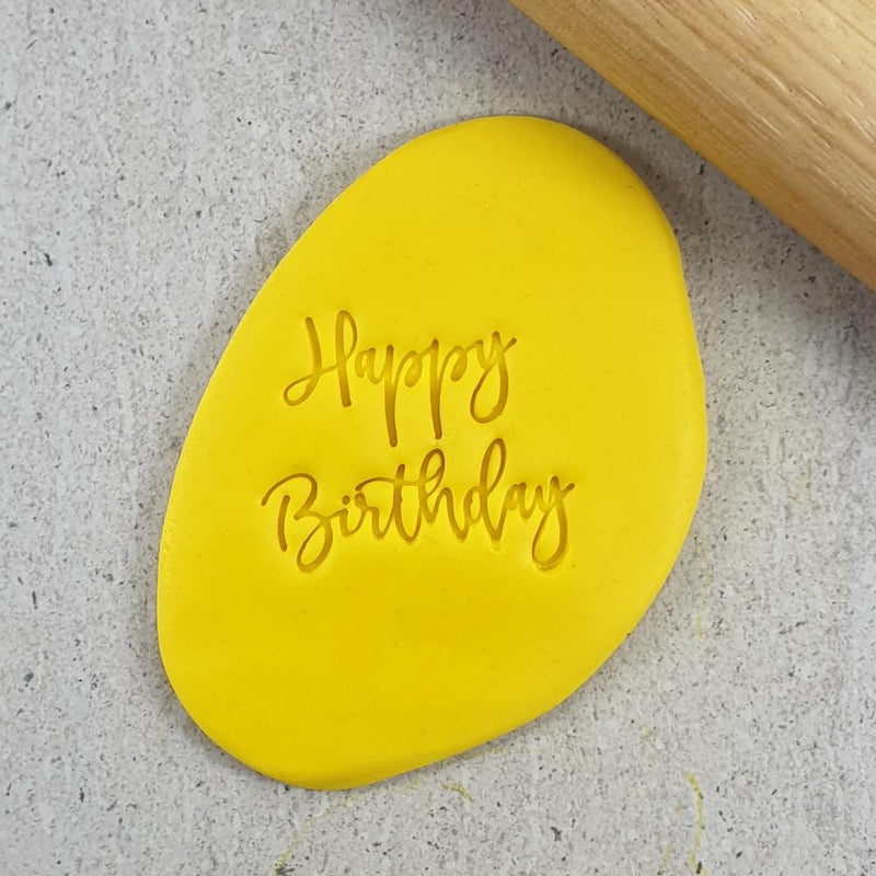 Embosser - Happy Birthday Embosser - 60mm
