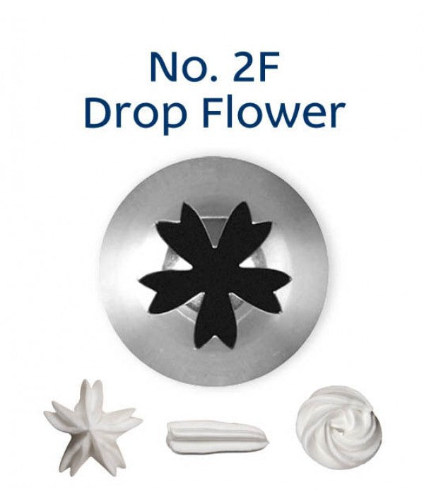 NO 2F DROP FLOWER PIPING TIP LOYAL
