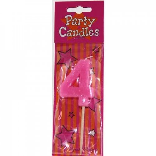 #4 LARGE NUMBER CANDLE