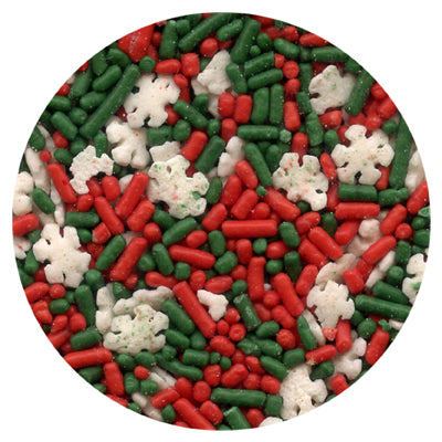 Noel - Christmas Flurry Blend Edible Confetti Sprinkles 85g