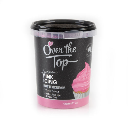 Pink - Over The Top Buttercream 425g