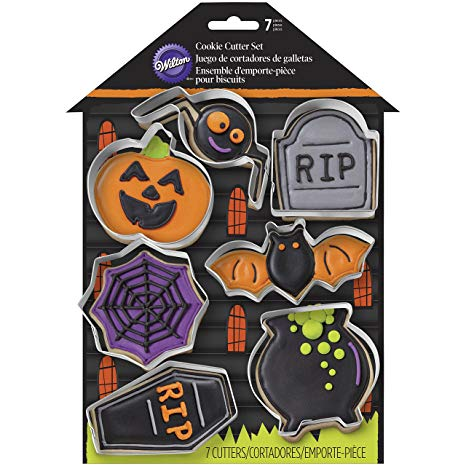 Haunted House - 7pc Halloween Cookie Cutter Set