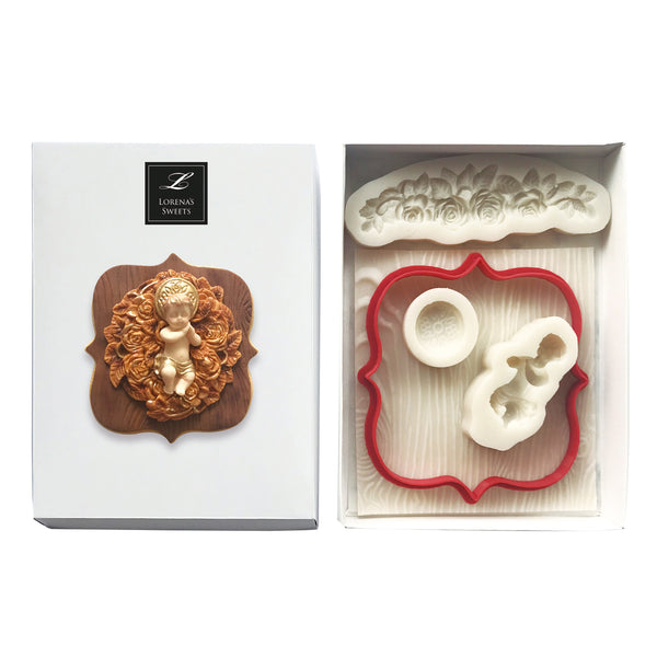 Cookie Decoration Kit - Sleeping Baby