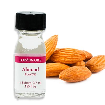 Almond Flavour Oil 3.7ml - LorAnn