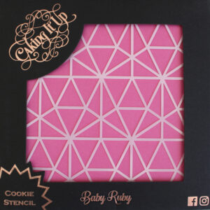Cookie Stencil - Baby Ruby