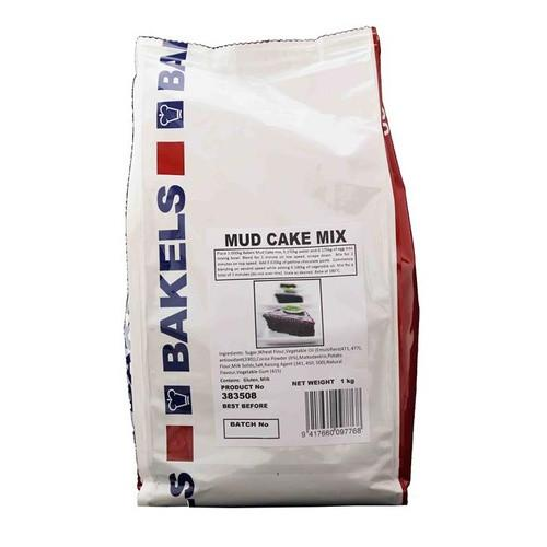Chocolate Mud Mix 1kg - Bakels