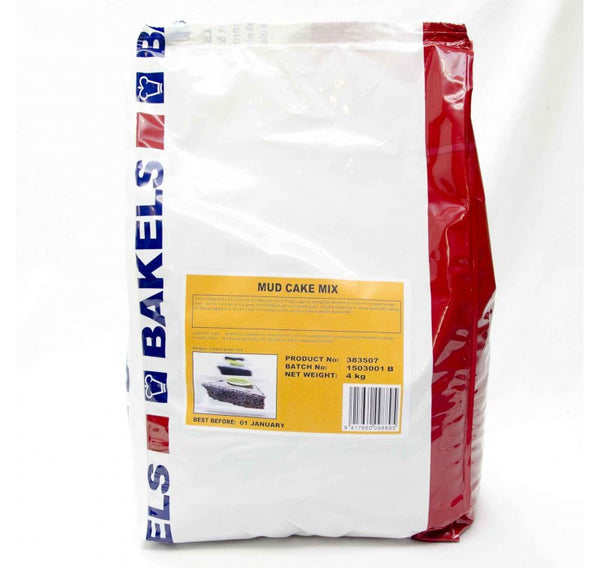 Chocolate Mud Mix 4kg - Bakels