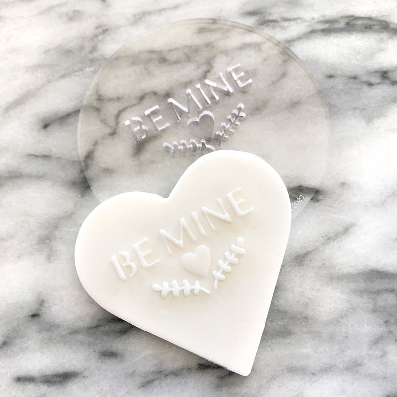 Be Mine (Heart) Fondant Embosser - SDD