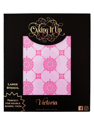 Victoria Cake Stencil - Caking It Up