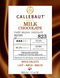 Callebaut Milk Couverture Chocolate Callets (Melts) 33.6% - 500g
