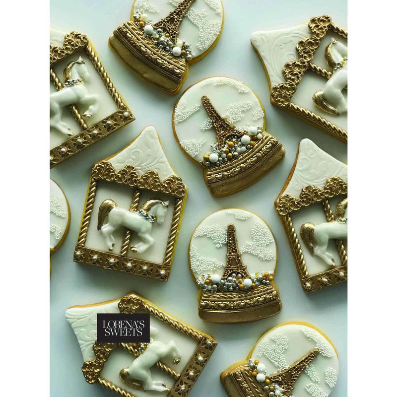 Cookie Decoration Kit - Carousel & Snow Globe