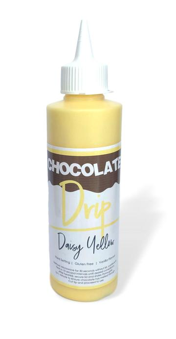 Daisy Yellow Chocolate Drip 250g