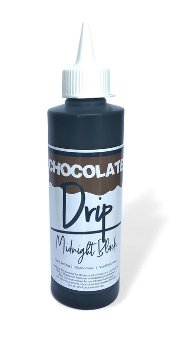 Midnight Black Chocolate Drip 250g