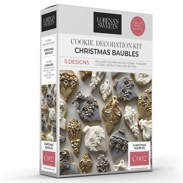 Cookie Decoration Kit - Christmas Baubles