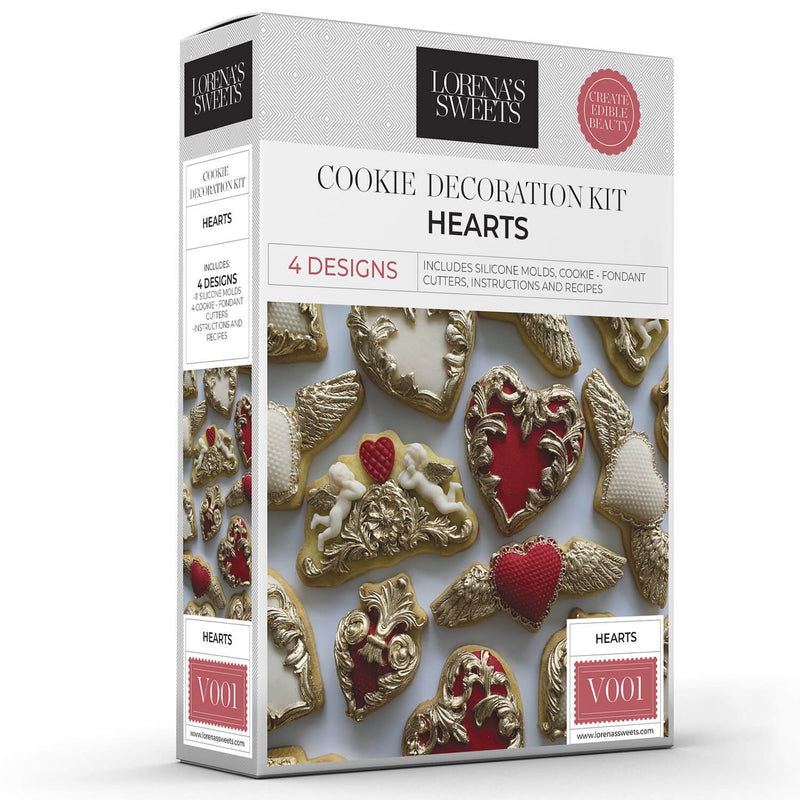 Cookie Decoration Kit - Hearts