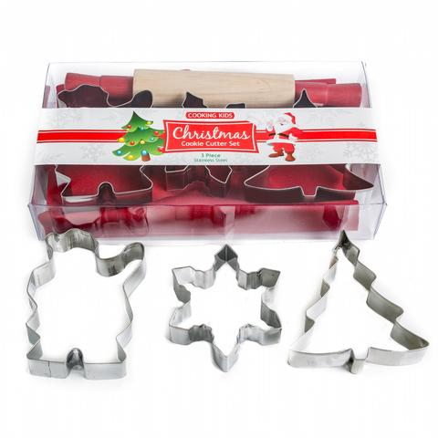 Cooking Kids - Cookie & Baking Gift Set for Christmas