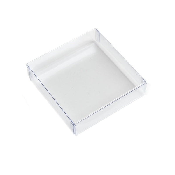 Cookie Box - Clear 4.5 inch square 1 piece box
