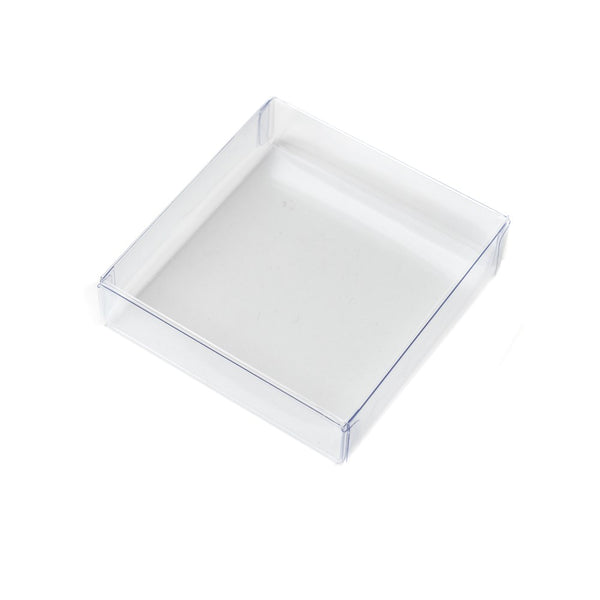 Cookie Box - Clear 3.5 inch square 1pc box