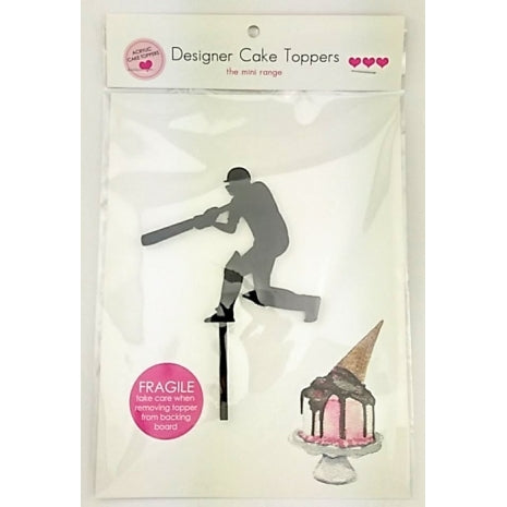 Cricket - Silhouette Mini Acrylic Cake Topper