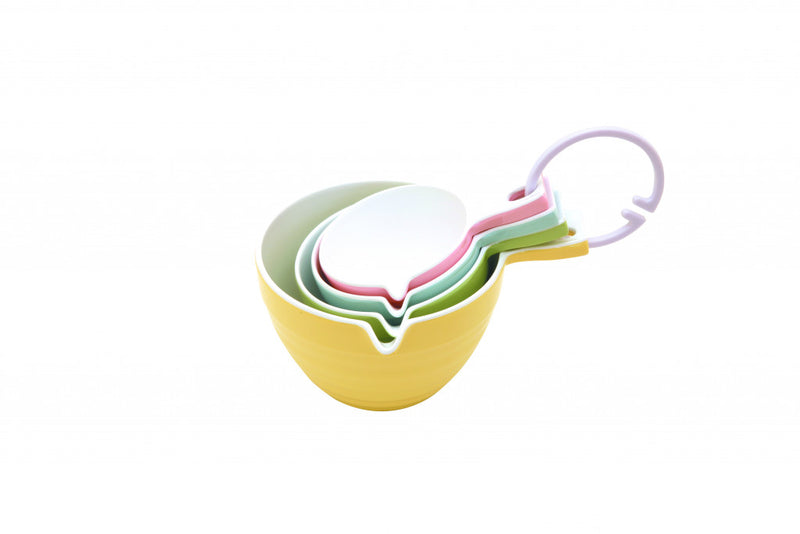 Measuring Cup Set - 4 pc Retro Pastels