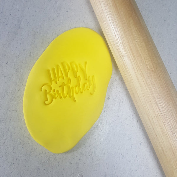 Embosser - Happy Birthday (version 1) - 60mm
