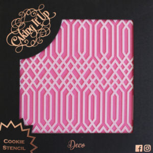Cookie Stencil - Deco
