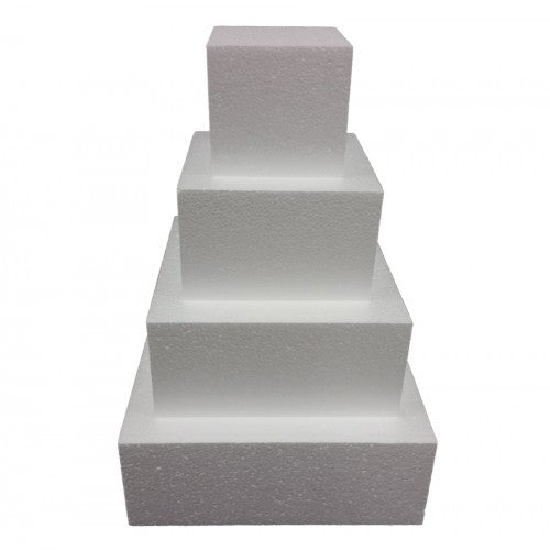 Square Cake Dummy (4 inch height)