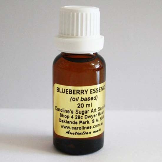 Blueberry Essence 20ml - Carolines Sugar Art