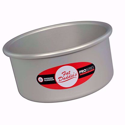 Deep Round Cake Pan / Tin (4 inches deep) - Fat Daddio