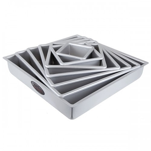 Square Cake Pan / Tin (3 inches deep) - Fat Daddio