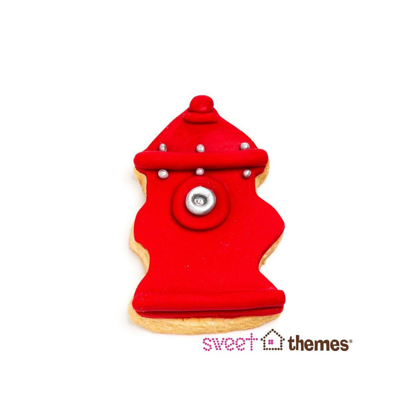 FIRE HYDRANT STAINLESS STEEL COOKIE CUTTER