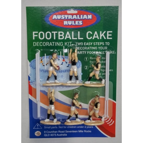 Aussie Rules Football Cake Decorating Kit