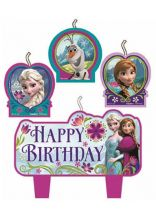 Frozen Candle Set 4 Pc