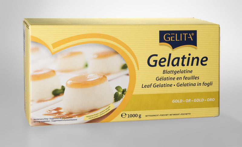 Gelatine Leaves - Gold Strength - Gelita