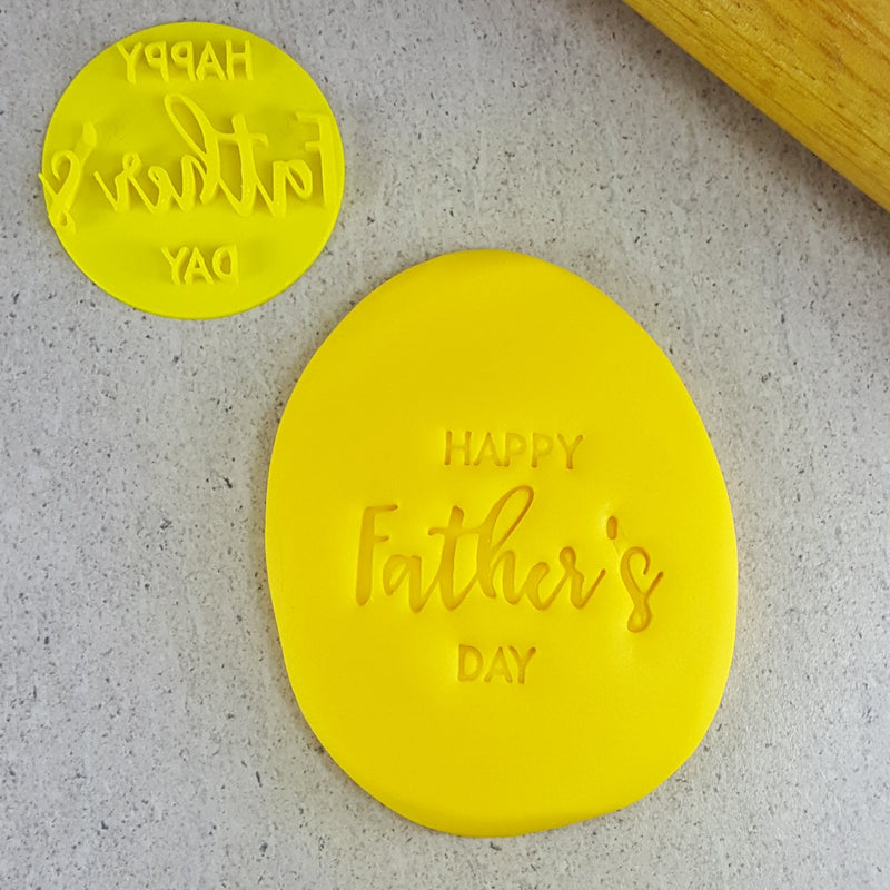 Embosser - Happy Father's Day - 60mm