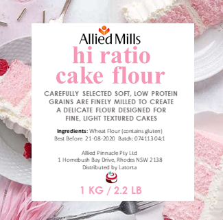Flour - Hi Ratio Cake Flour 1kg - Allied Mills