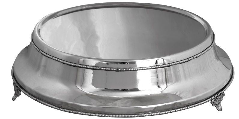 Hire - Ornate Silver Plateau Cake Stand