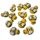 Mini Bees Sugar Decorations 12pk