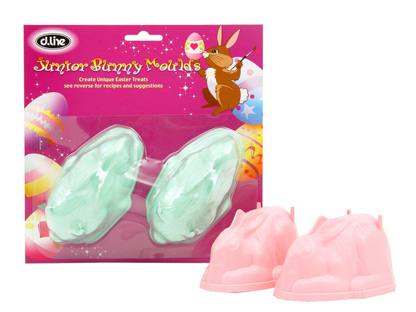 Junior Bunny Marshmallow Moulds  - 2 pk