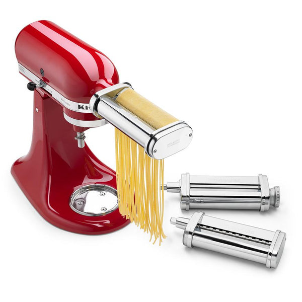 3 Pce Pasta Roller Set Attachment - Kitchenaid