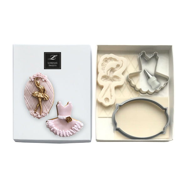 Cookie Decoration Kit - Ballerina & Tutu