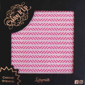 Cookie Stencil - Labyrinth
