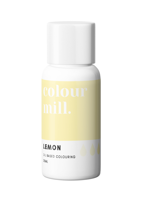 Colour Mill - Lemon - Oil Based Colour 20ml
