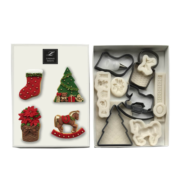 Cookie Decoration Kit - Christmas Assortment