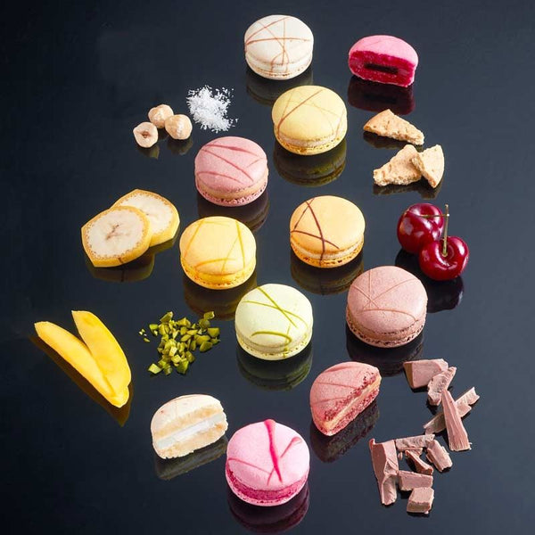 Macarons - Assorted Flavours - 15g each - La Rose Noire