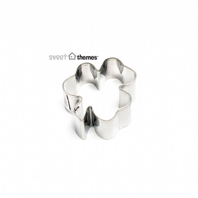 Cookie Cutter - Mini Shamrock / Clover stainless steel