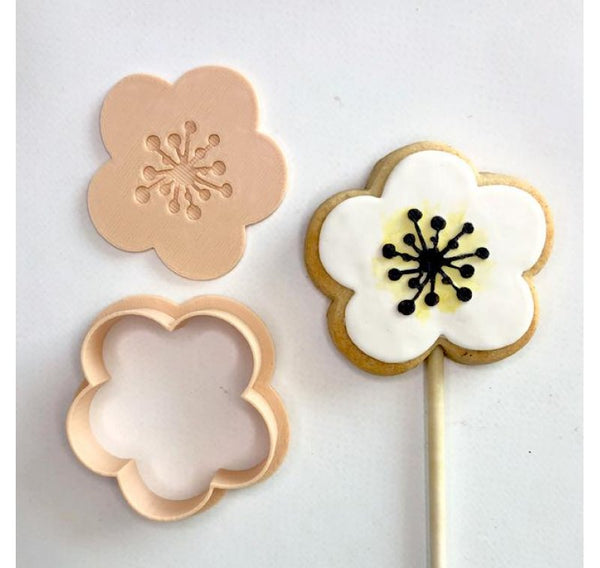 Embosser & Cutter Set - Open Flower - by Little Biskut