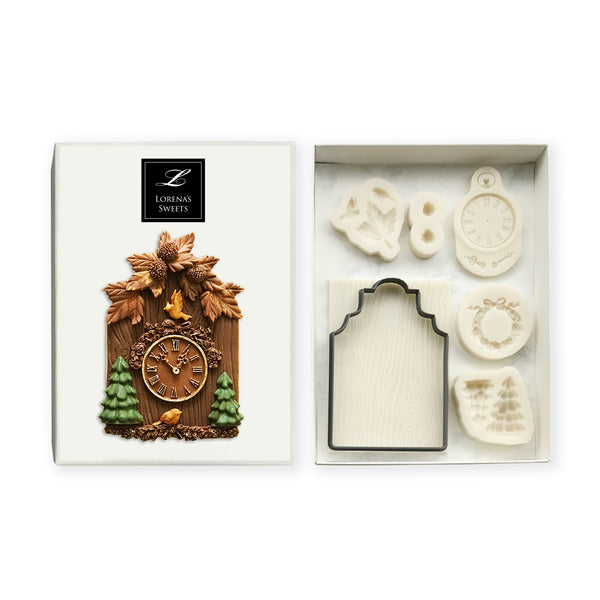 Cookie Decoration Kit - Large Cuckoo Clock