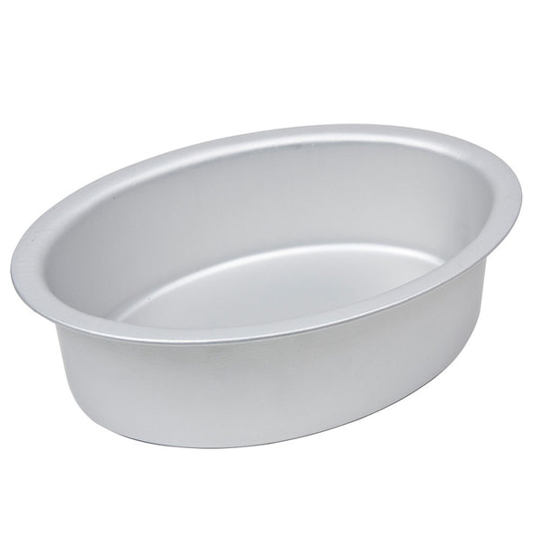 Oval Cake Pan / Tin (3 inches deep) - Fat Daddio