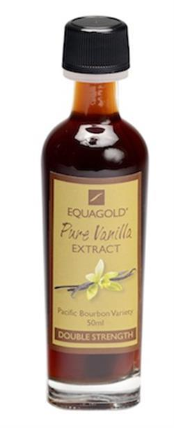Pure Vanilla Extract 50ml Double Strength Pacific Bourbon - Equagold